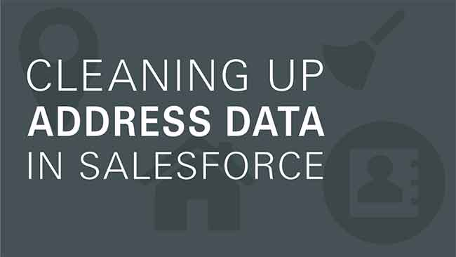 Cleaning Address Data