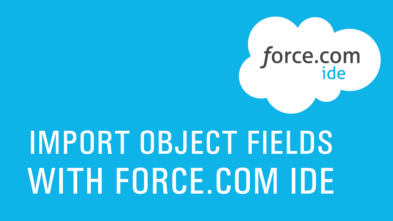 Import Force.com IDE-01