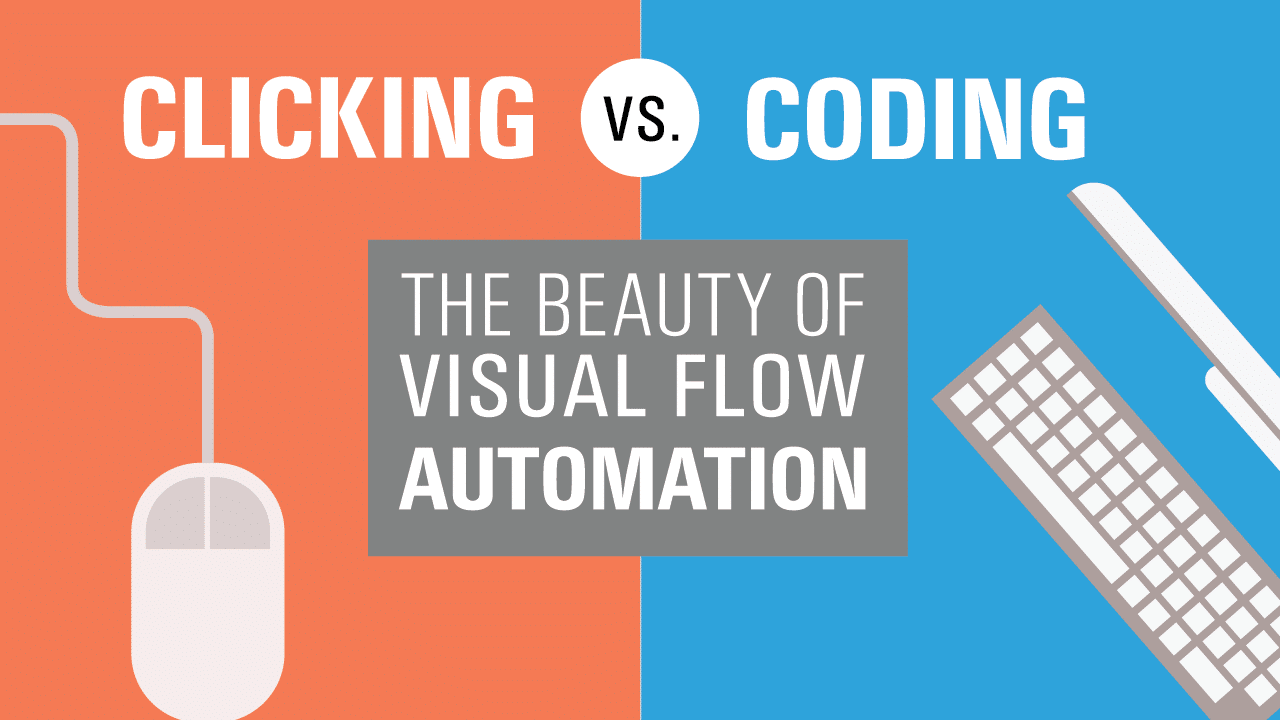 Clicking vs Coding