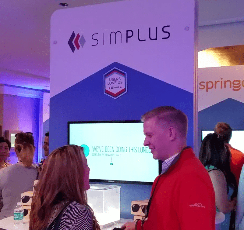 Simplus Booth Snowforce 2017