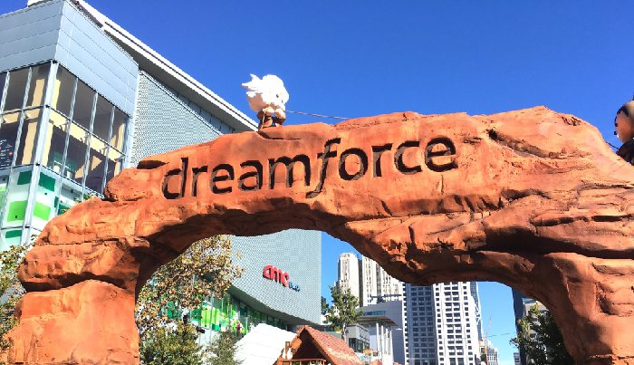 dreamforce-event-entrence