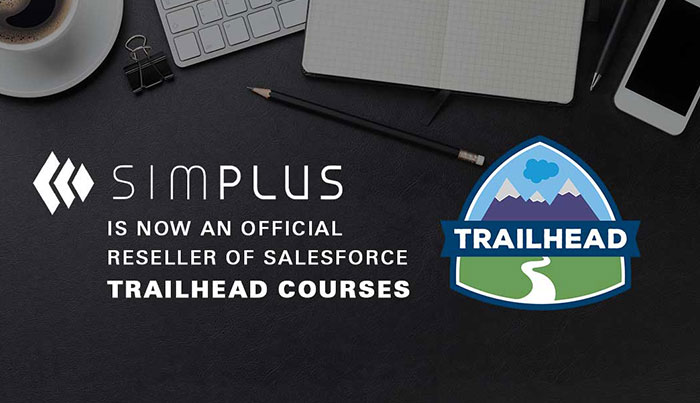 Simplus is a a trailhead course reseller