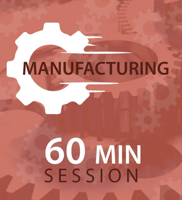 60minute manufacturing session