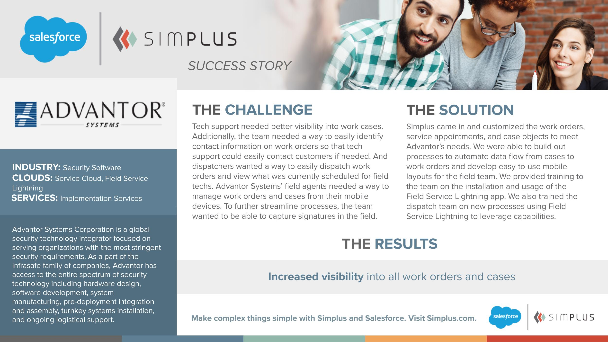 Simplus | Empowering field agents with Salesforce Field