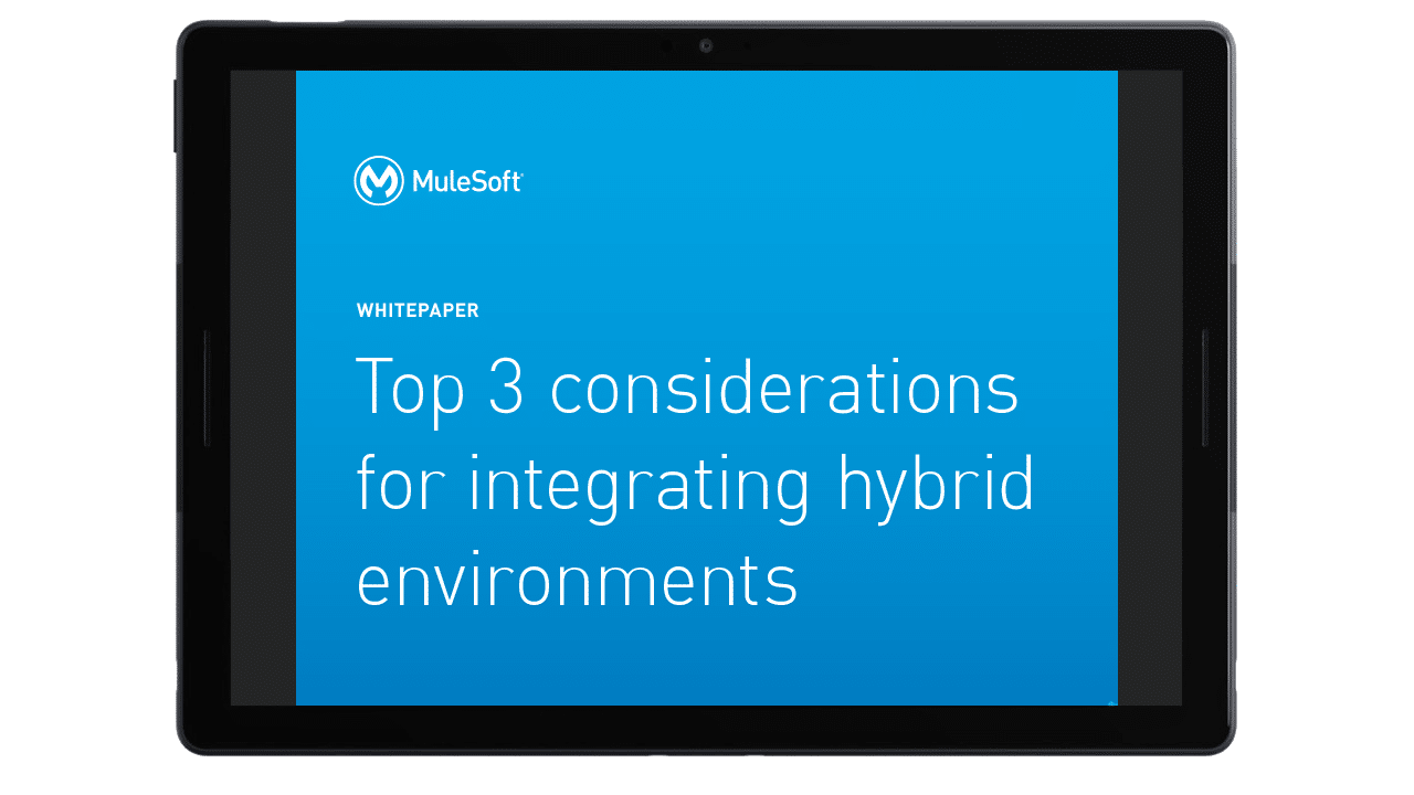 Top 3 considerations for integrating hybrid environments preview