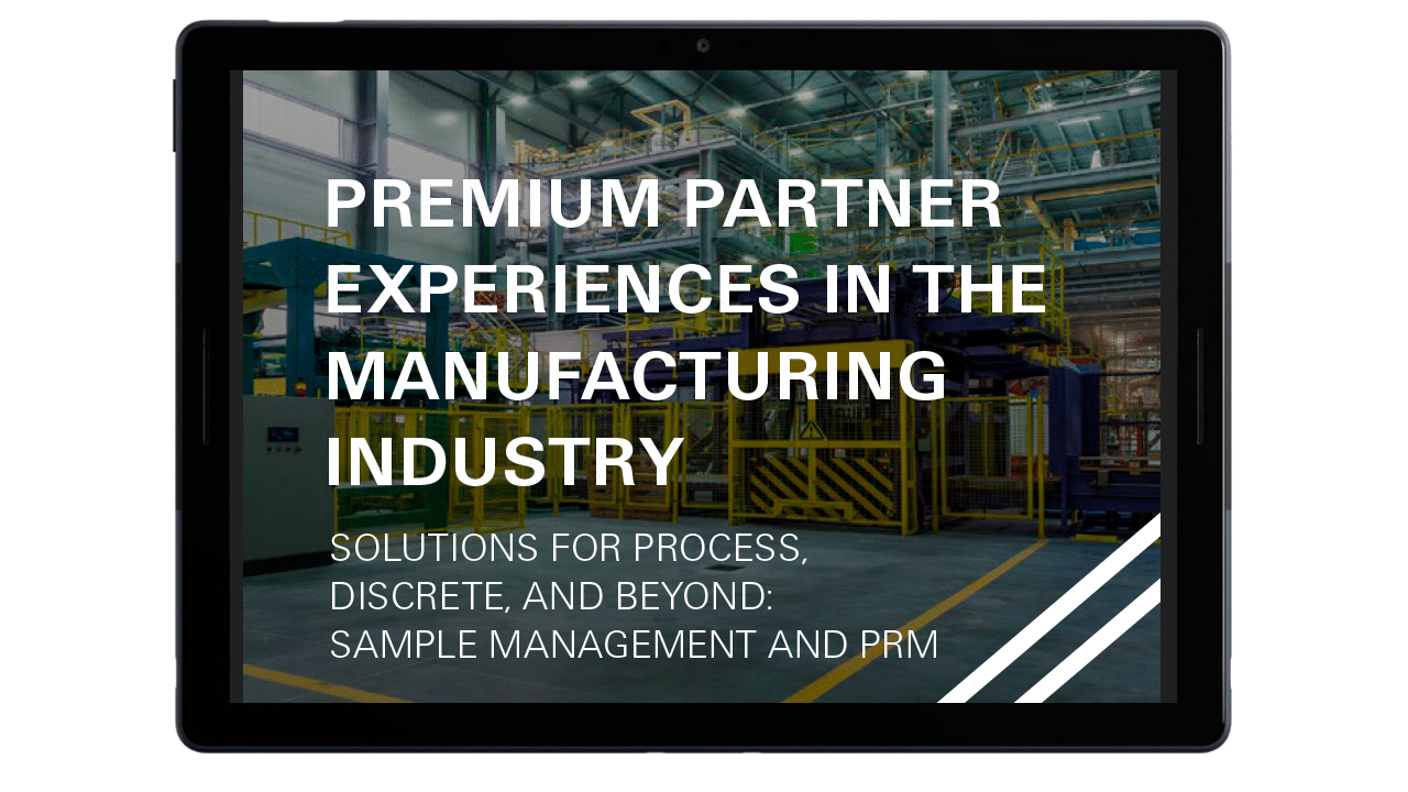 Premium Partner Experiences in the Manufacturing Industry