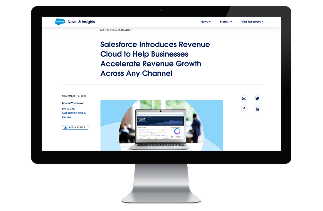 Revenue Cloud - Press Release