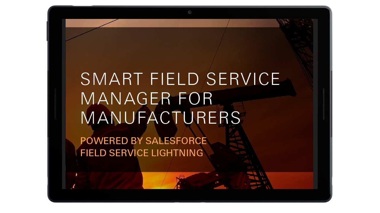Smart Field Service Manager for Manufacturers h thumb